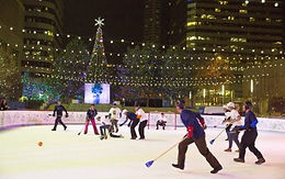 Downtown Denver Ice Rink at Skyline Park (CO)