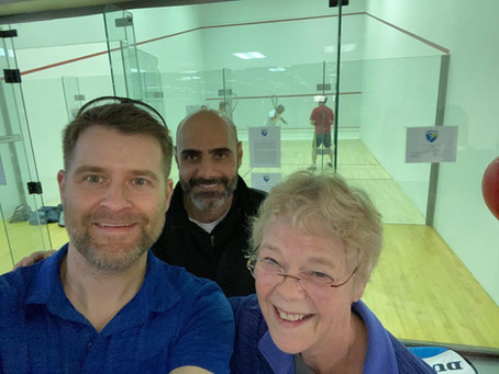 Players Rally to Bring Squash to Fredericksburg