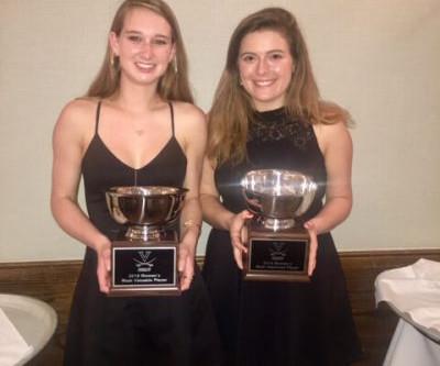 VSRA Player Awarded UVA Women's Squash Team MVP for 2017-18 Season