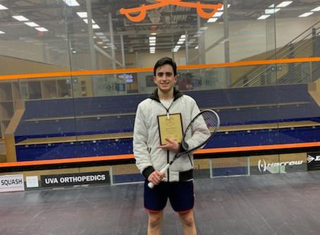 Scholarship Recipient Wins MSC Junior Bronze Event