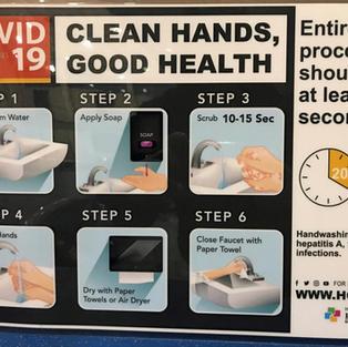 HAND WASHING SIGNAGE