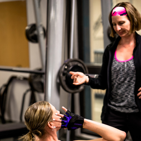 our personal trainers are here to help