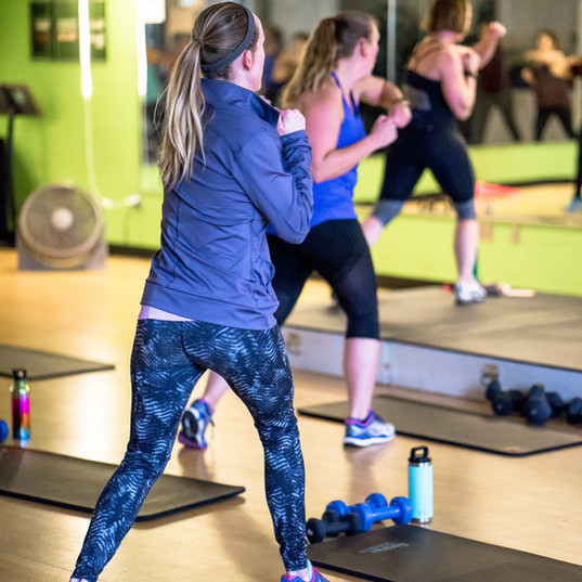 sign up for a fitness class