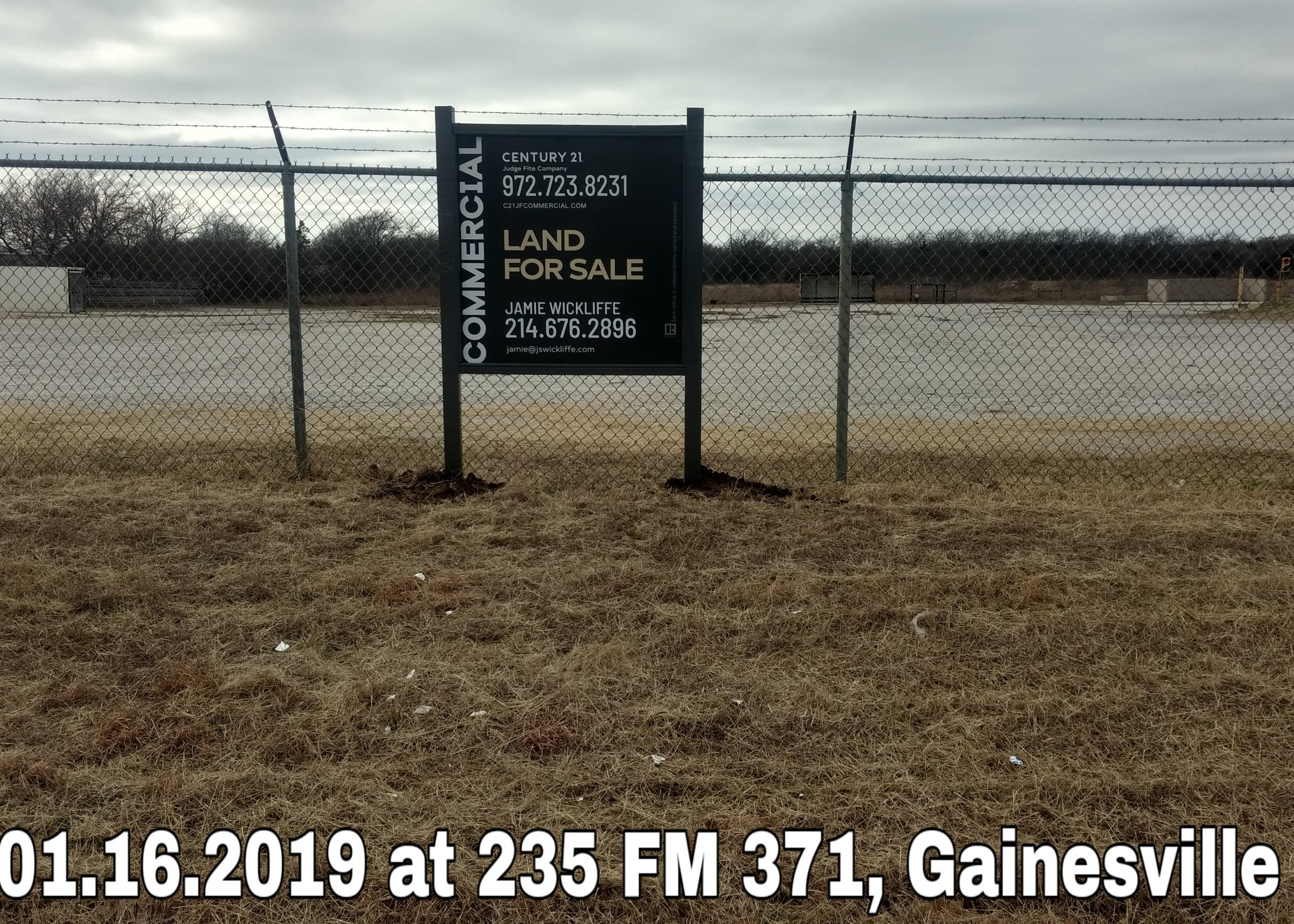 Invoice 1812 at 235 FM 371 Gainsville Te