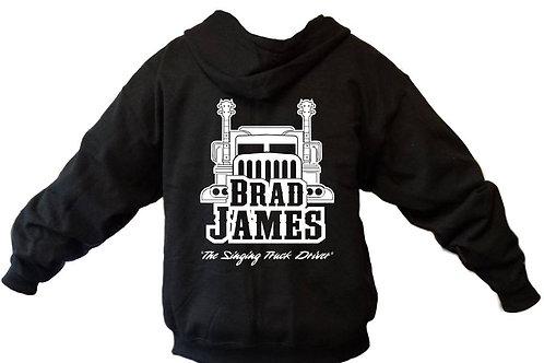 Brad James Official Zipper Hoodie