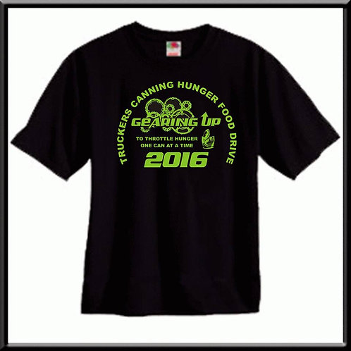 Truckers Cannng Hunger Food Drive T-Shirt