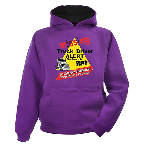 Missing Truck Driver PULLOVER hoodie
