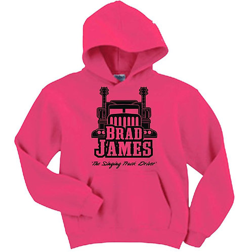 Brad James OFFICIAL Pullover Hoodie
