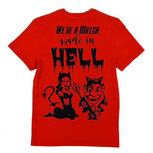 We're a Match Made In Hell