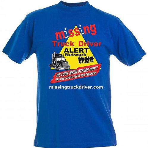 Missing Trucker T-Shirt Yellow Triangle