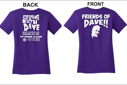 Friends of Dave Shirt with SS Cruises