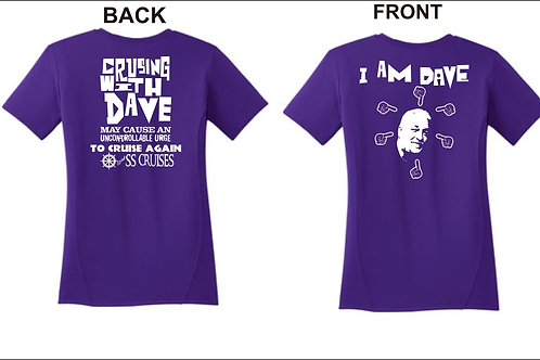 I am Dave Shirt, With SS Cruises