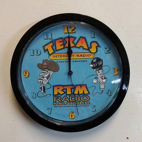 RTM Radio Mascots Clock