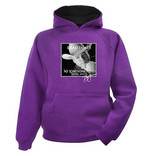 Brad James Lonesome Road PULLOVER hoodie