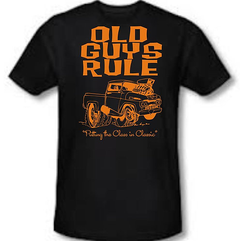 Old Guys Rule Shirt