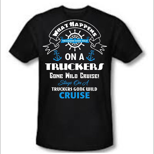 What happens on a TGW Cruise STAYS on a TGW Cruise blue and white design