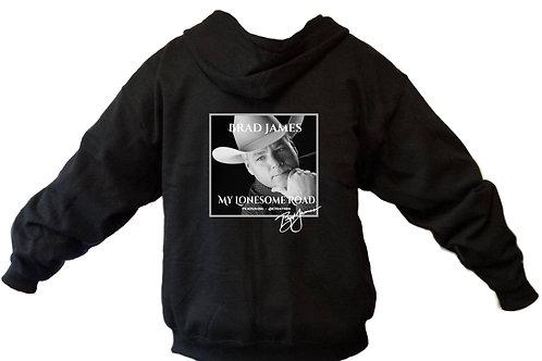 Brad James Lonesome Road ZIPPER hoodie