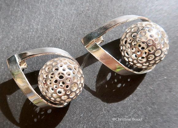 Boucles d'oreille Design Mille Trous