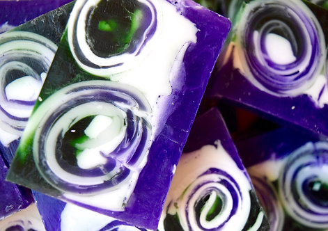 Bare Bars of Ecology Soap's Lilac Breeze Bar Soap