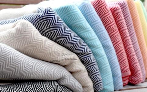 100% Organic Cotton Peshtemal Turkish Kitchen Towels