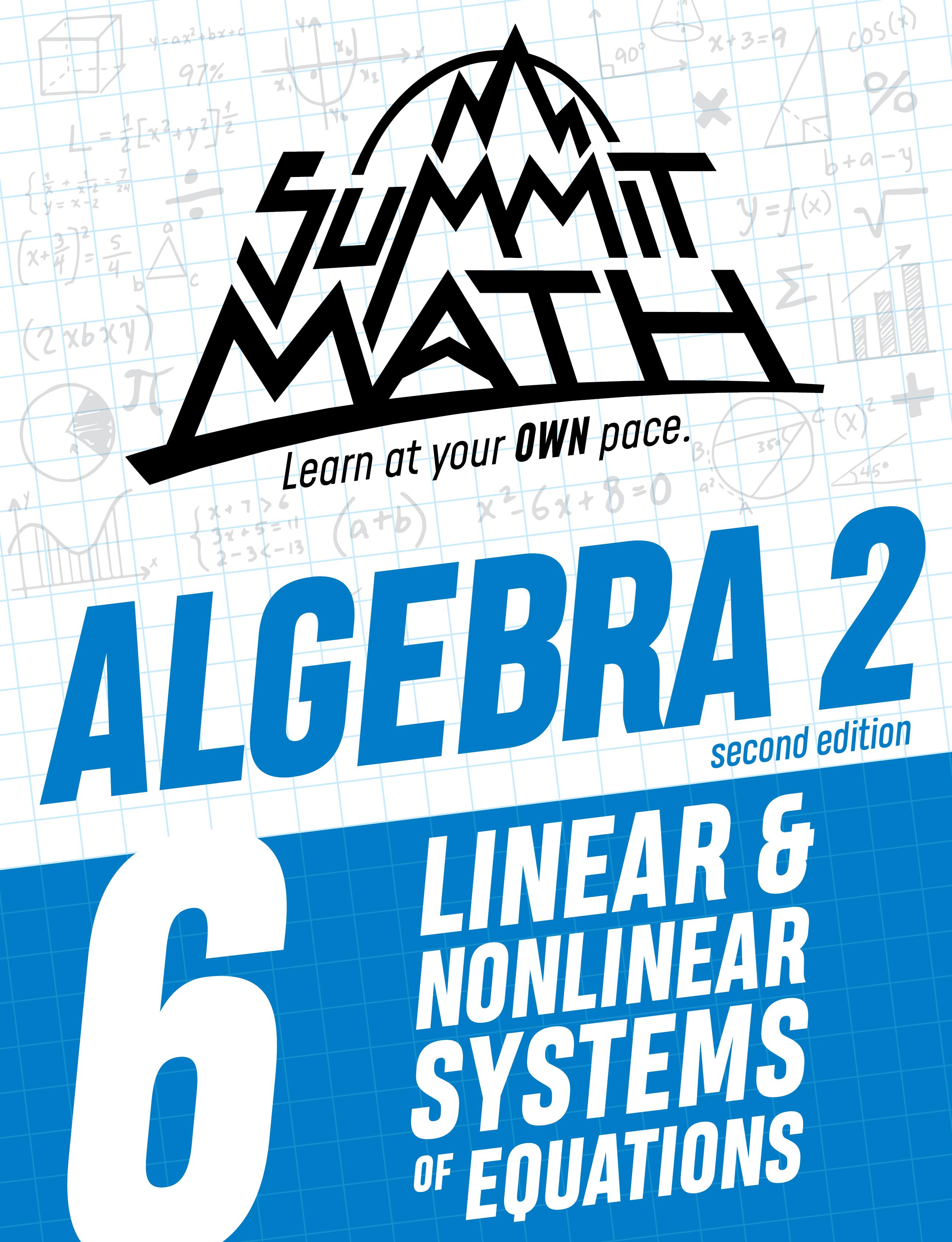 Algebra 2 Book 6