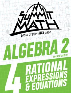 Algebra 2 Book 4