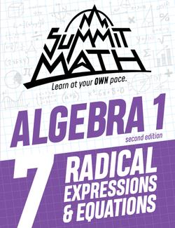 Algebra 1 Book 7