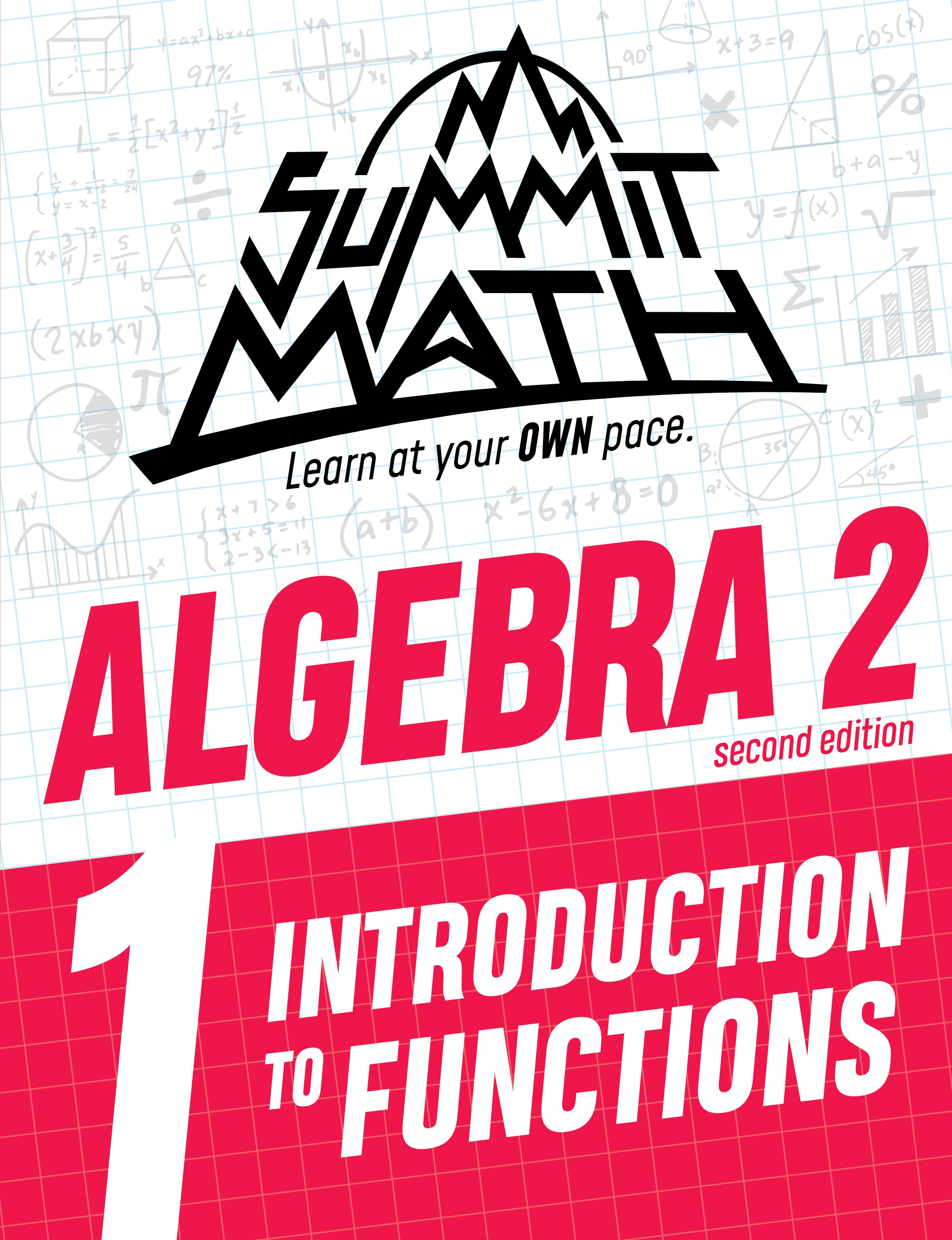 Algebra 2 Book 1