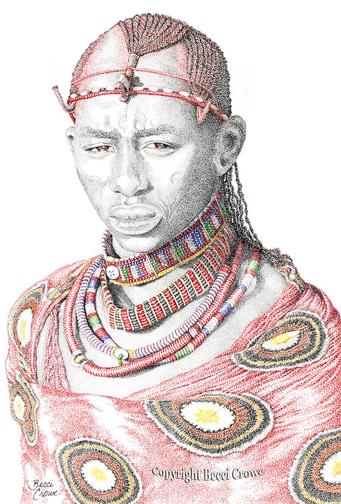 "Maasai ""The Warrior"""
