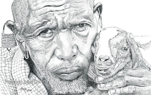 "Maasai Elder ""Prized Possession"""
