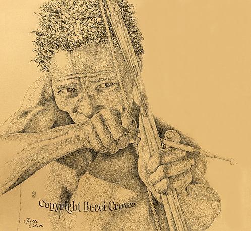 """San Bushman """"The Hunter"""""""