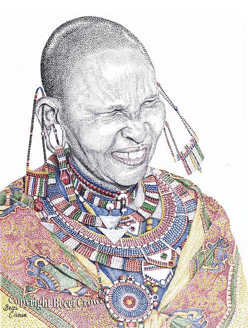 "Maasai Woman ""Joy"""