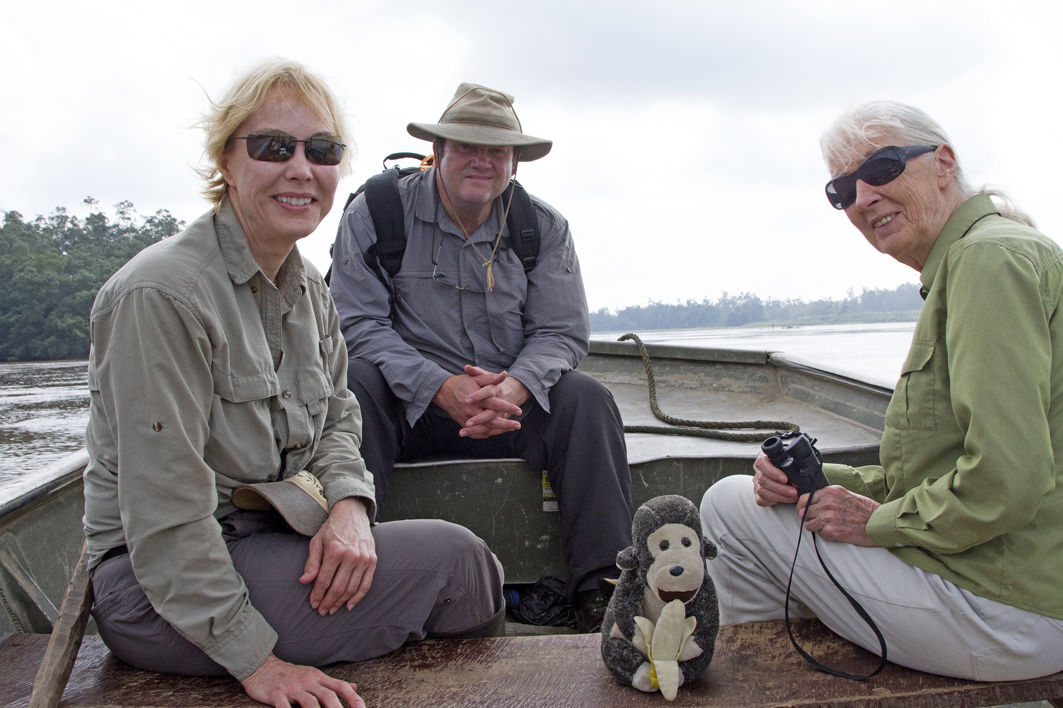 Becci, Mark, Dr Goodall in the Congo