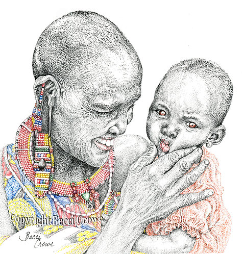 """Maasai Mama"""