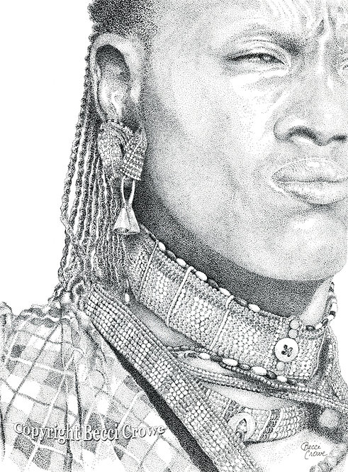 "Maasai ""Proud Warrior"""