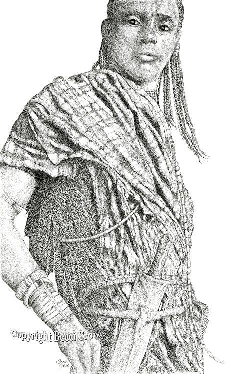 """Maasai """"The Guardian"""""""