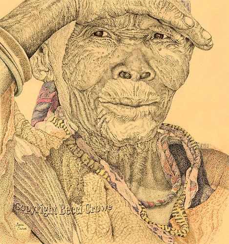"San Bushwoman ""Wisdom of the Ages"""