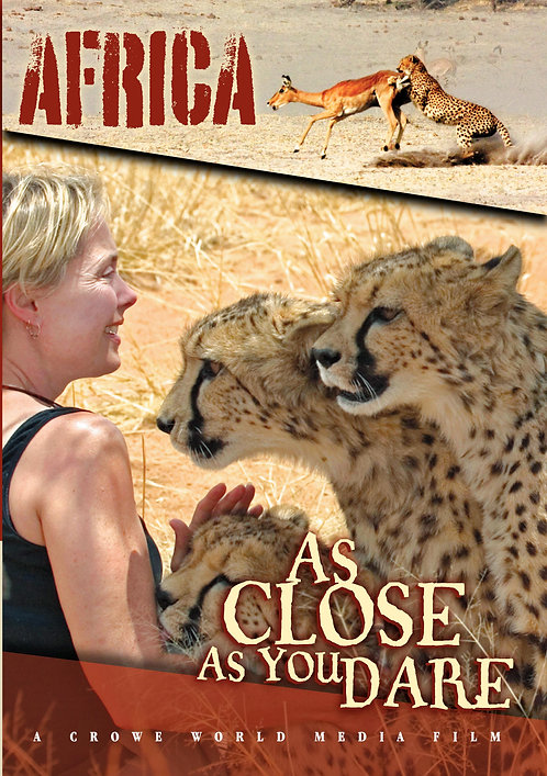 """DVD """"As Close As You Dare - Africa"""""""