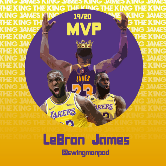19/20 MVP LEBRON JAMES