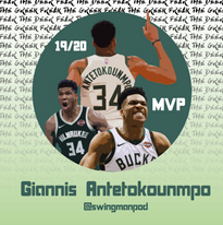 19/20 NBA MVP GIANNIS ANTETOKOUNMPO