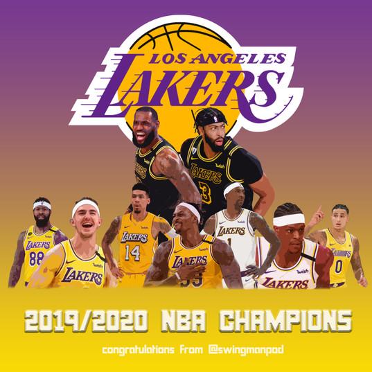 2019/2020 NBA CHAMPIONS