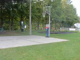 Basketball and Swings