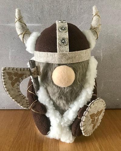Handmade Nordic Viking Boy Gnome