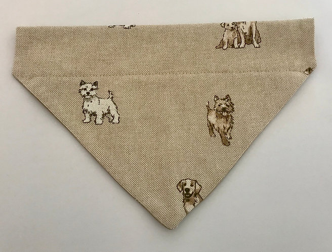 Dogs Mix Over The Collar Dog Bandana