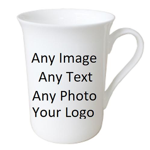 Personalised 10oz Bone China Mug