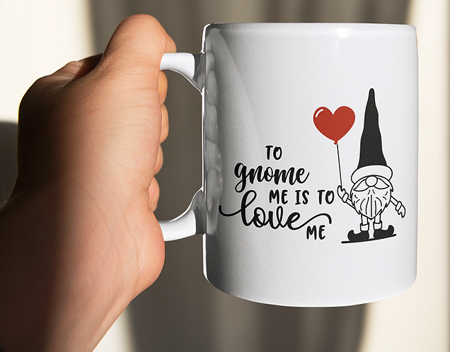 Personalised Mug - To Gnome Me Is To Love Me