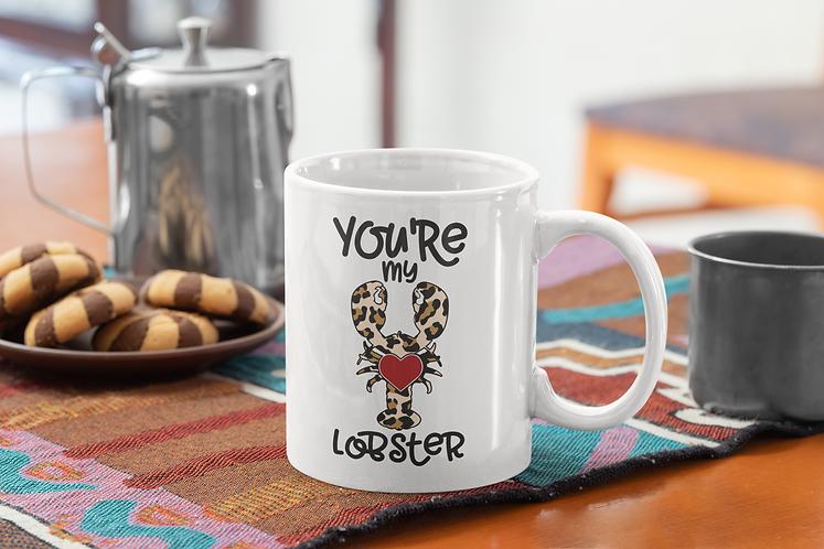 Personalised  Mug - You're My Lobster