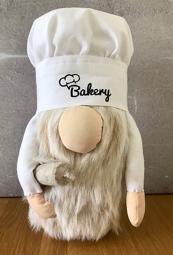 Handmade Nordic Baker Gnome