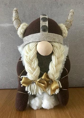 Handmade Nordic Viking Gnome Woman