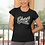 Thumbnail: Cheer Mom Glitter Black T Shirt